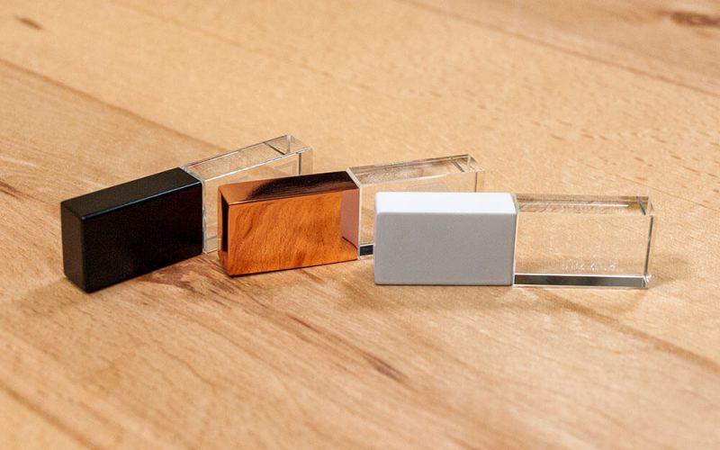 Γυάλινο USB Stick